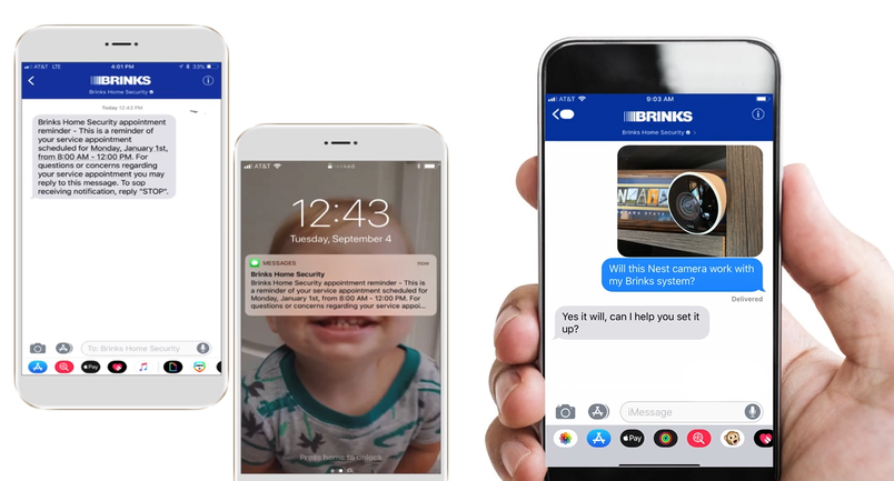 Brinks moves one in ten customer service calls to Quig mobile chat channel ZDNet