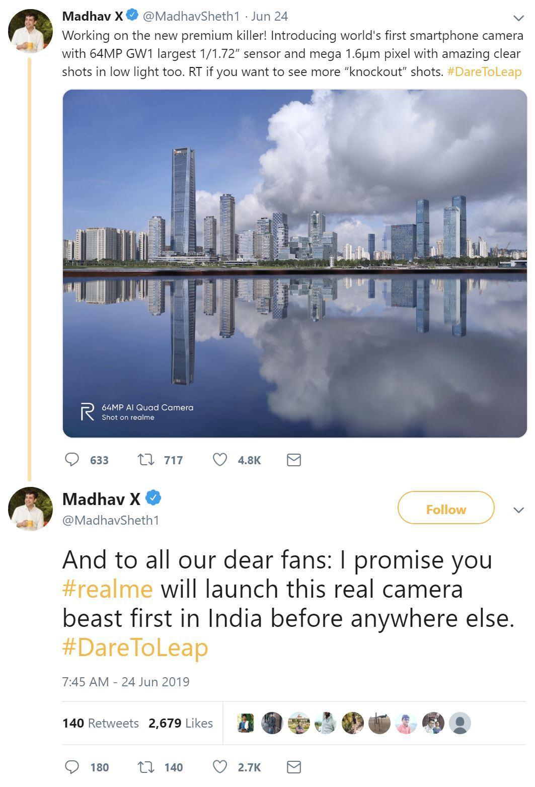 Sheth's tweets