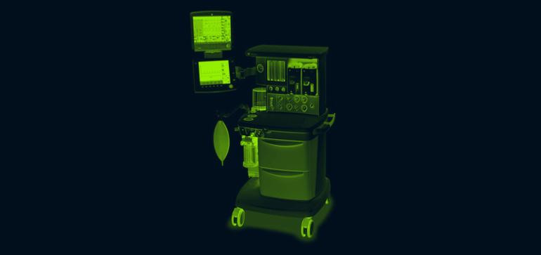 GE Aespire anesthesia machine