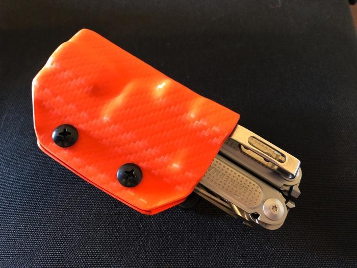 Clip & Carry Kydex Multitool Sheath
