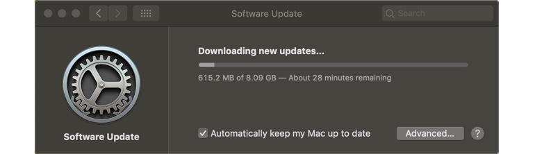 MacOS 10.15 Catalina upgrade