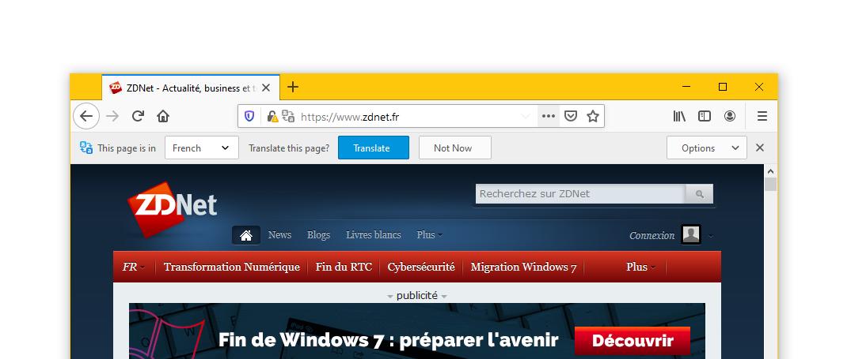 Firefox translation