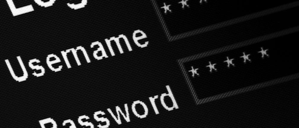 login password