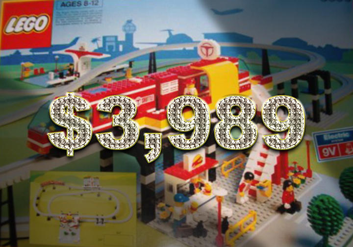 LEGO Vintage Airport Shuttle Monorail - $3,989