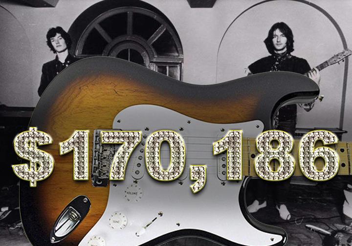 Eric Clapton 2014 Fender Strat played at Royal Albert Hall - $170,186