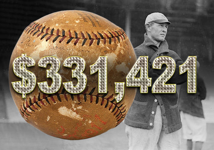 Frank Chance autographed baseball - $331,421