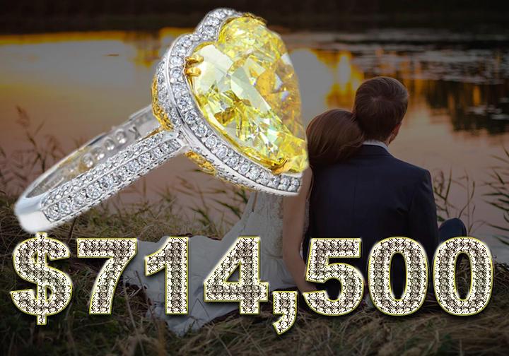 Rachel Koen Ten Carat Engagement Ring - $750,000
