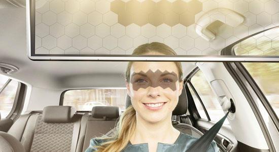 A modern alternative to car visors