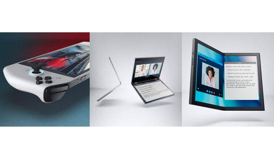 Dell: Concept UFO, Concept Duet, and Concept Ori