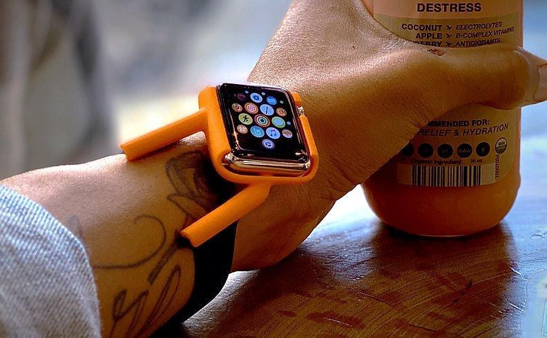 Tilt Apple Watch band