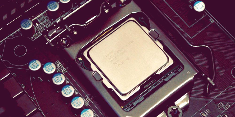 motherboard cpu processor intel