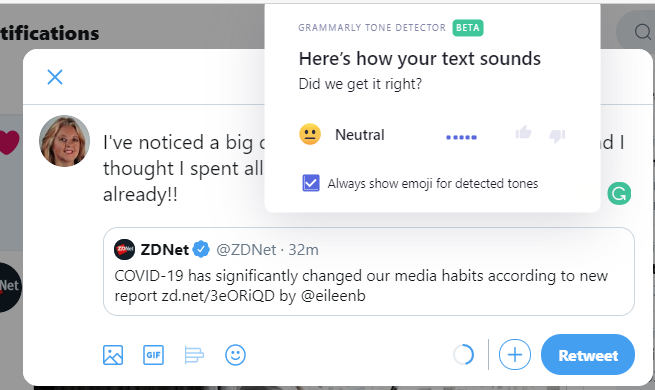 My week with Grammarly to help improve my writing skills zdnet