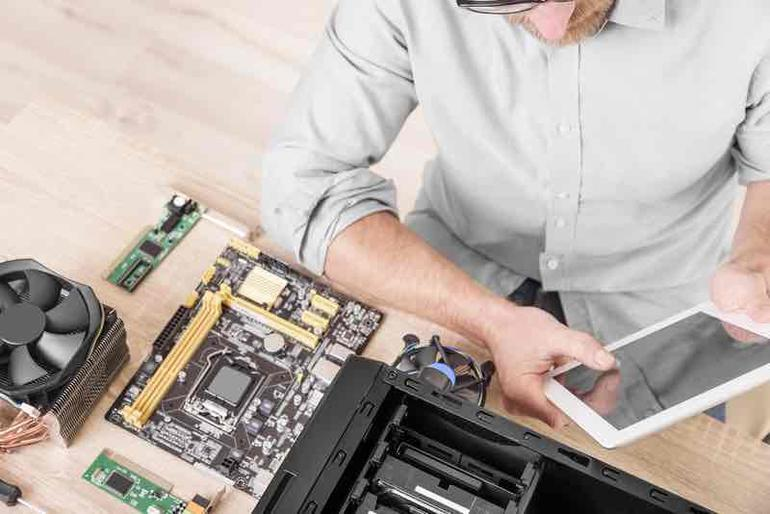 Computer repair professional