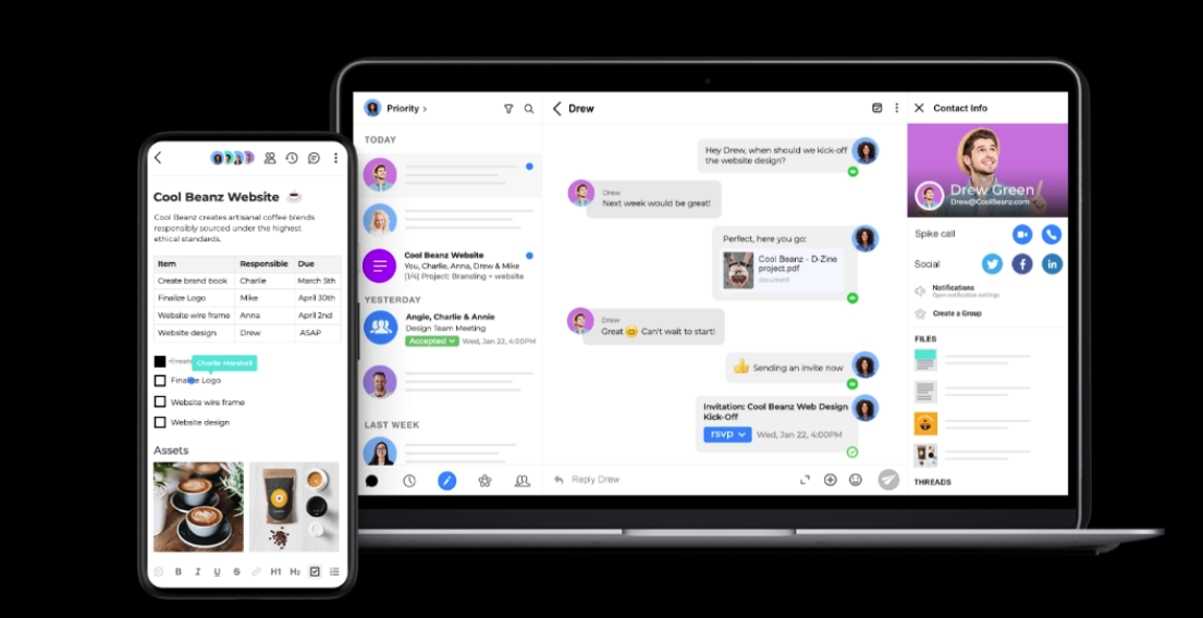 Spike reimagines the future of collaborative email with new app zdnet