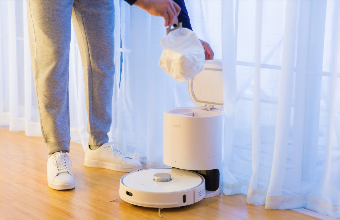 Hands on with the Neabot robot vacuum reinventing the way you clean the house zdnet