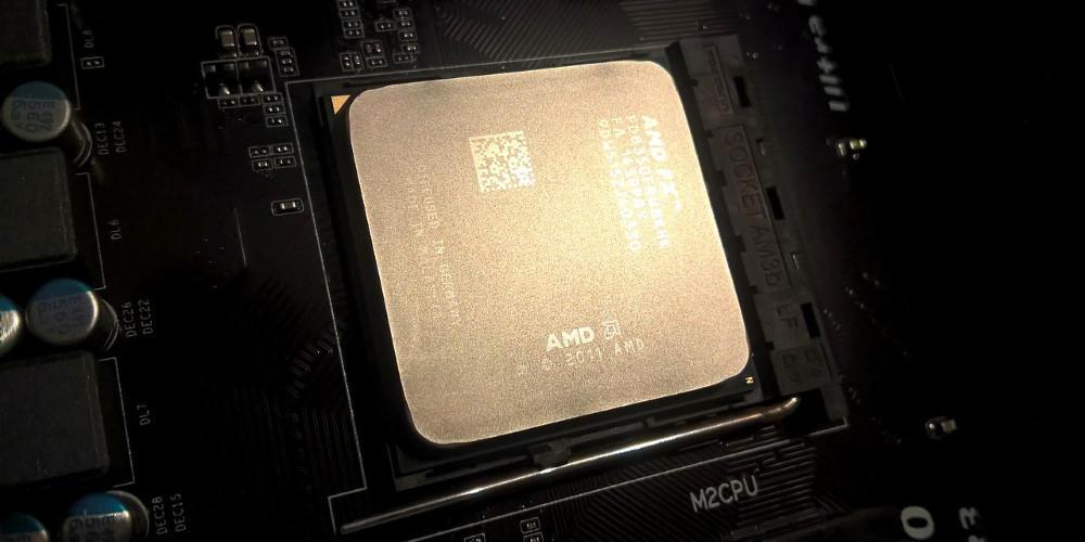 AMD CPU processor
