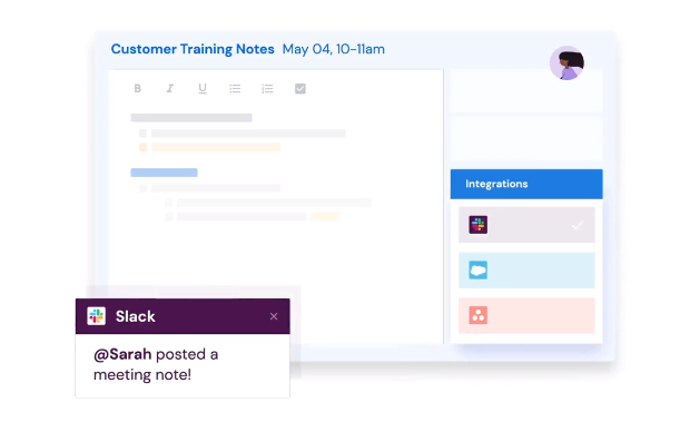 Browser extension Hugo shows shareable pop-out meeting notes on top of webpages zdnet