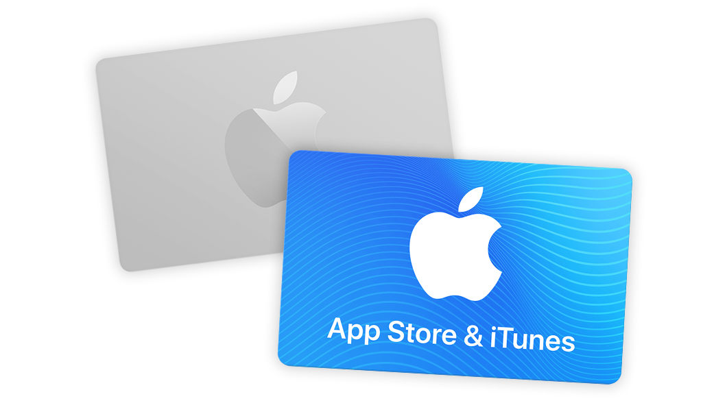 iTunes Apple store gift cards
