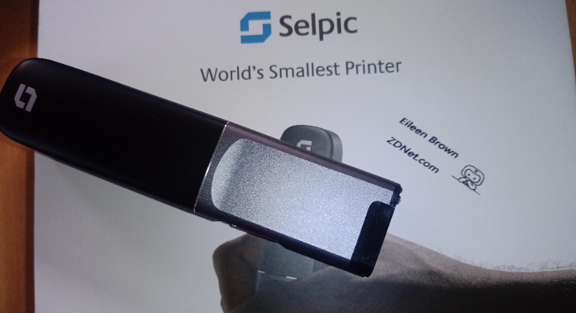 Hands on with the Selpic P1 hand-held printer: A tiny wireless inkjet printer for multiple surfaces zdnet