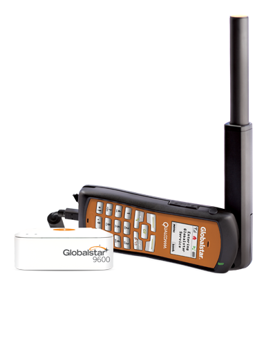 Globalstar GSP-1700 with the 9600