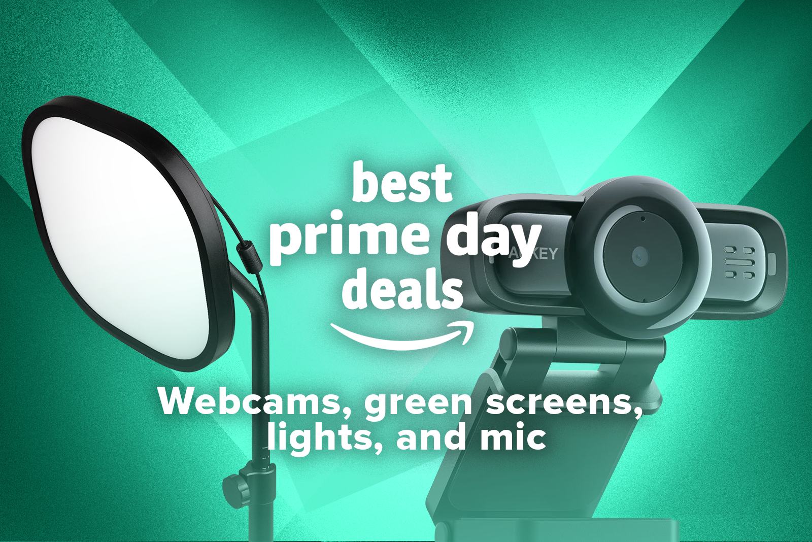 03 Best Prime Day Deals Webcams Green Screens Lights And Mics, Cyber Security