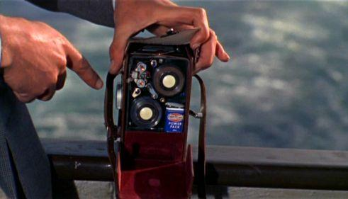 Tape Recorder Camera, From Russia with Love (1963)
