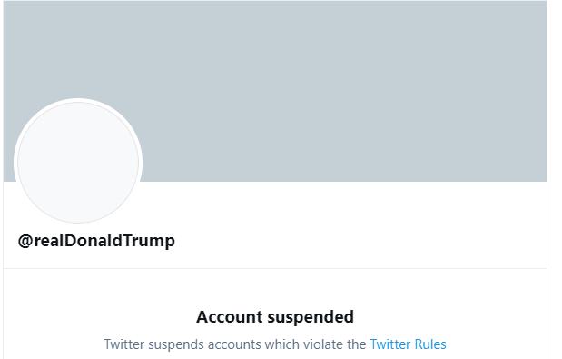 Twitter: Trump suspendu à vie