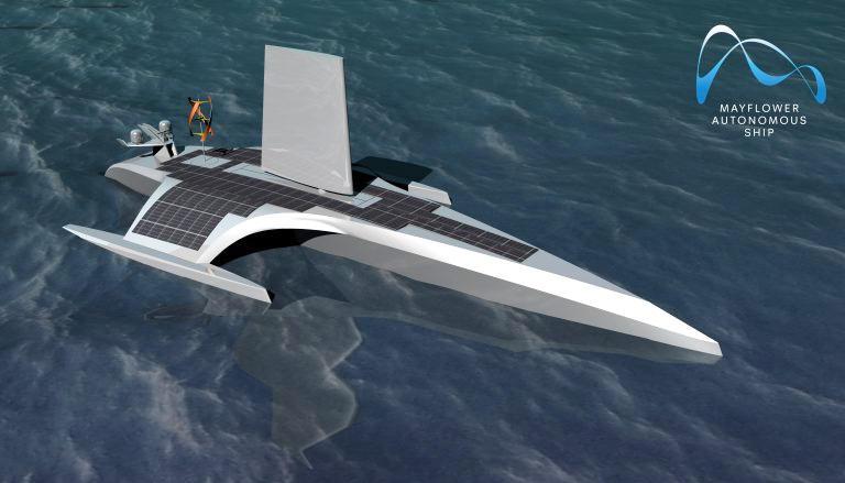 IBM & The Mayflower Autonomous Ship & The AI Captain