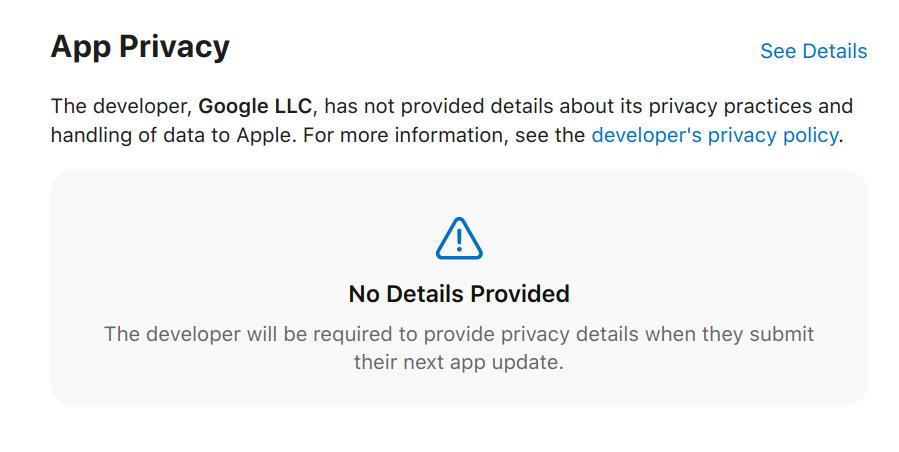 iOS14: Les applications Google intégreront les informations sur les données personnelles lors des prochaines mises à jour
