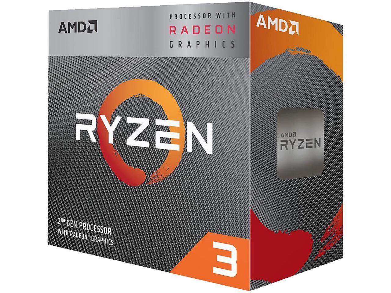 AMD Ryzen 3 3200G 4-Core 3.6 GHz (4.0 GHz Max Boost)