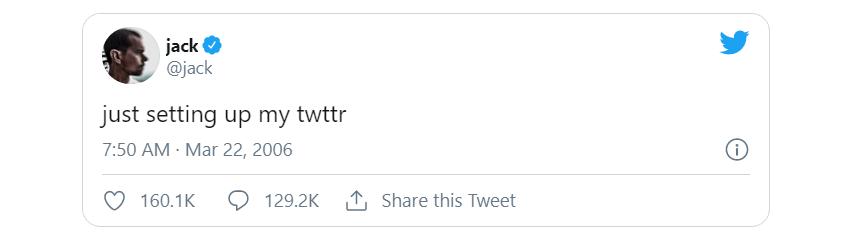 Jack Dorsey's first tweet sells for $2.9m via NFT | ZDNet