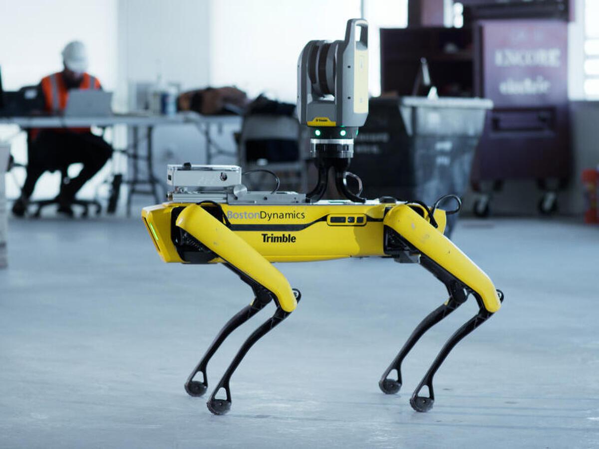Ce chien-robot est désormais entraîné à suivre le chef