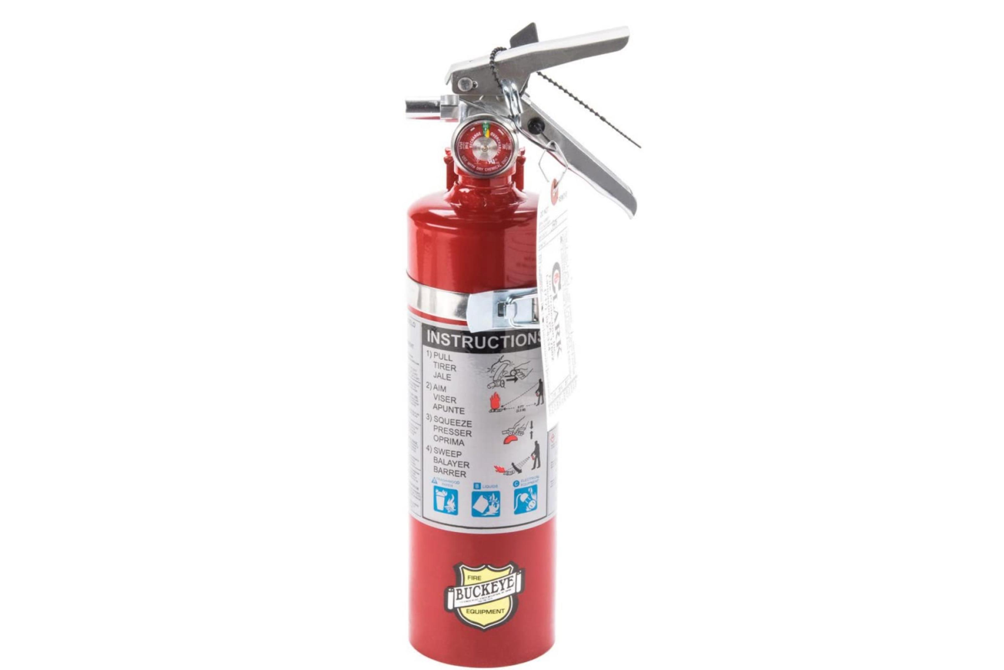 Buckeye 2.5lb fire extinguisher (4-pack)