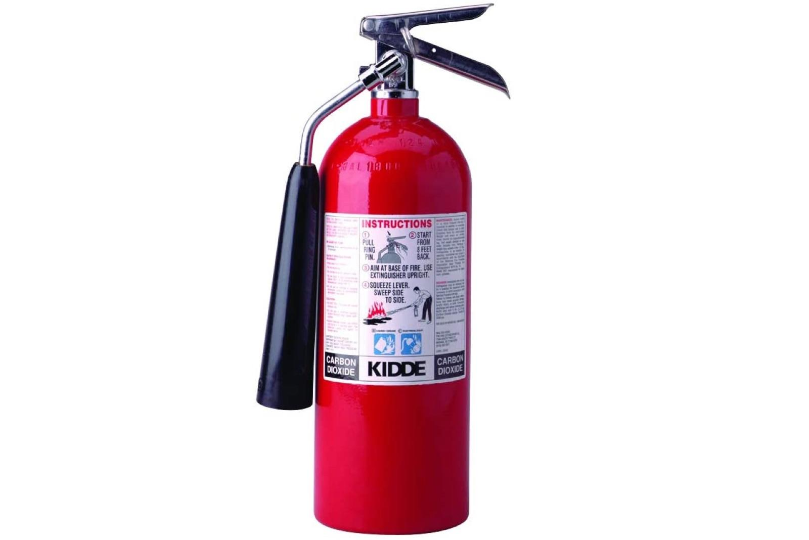 Kidde carbon dioxide fire extinguisher