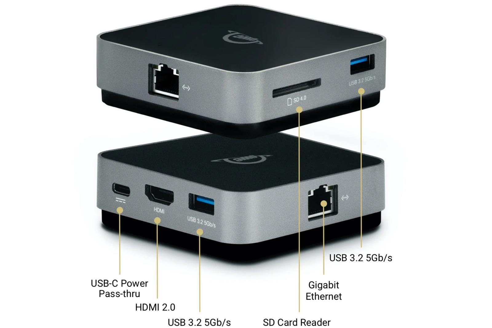 USB-C Travel Dock E