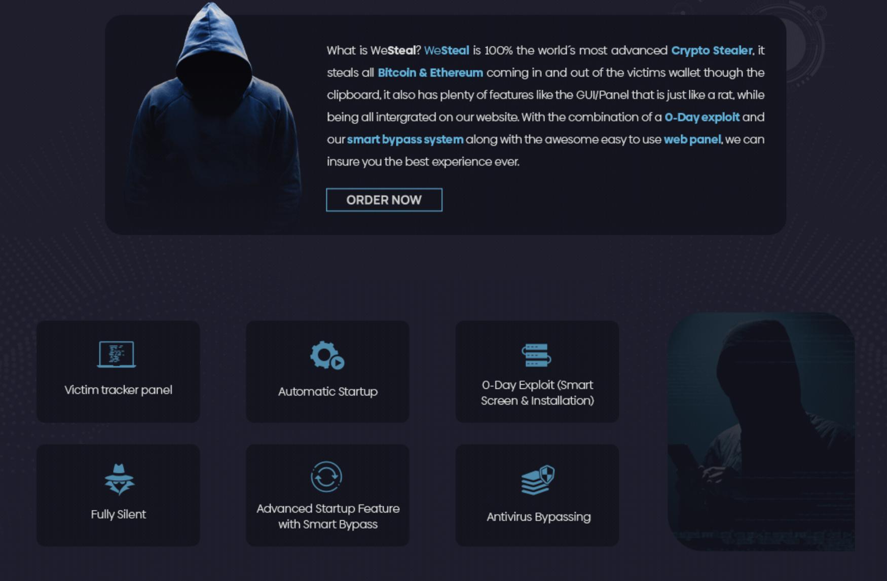 """A """"Panda Stealer"""" kártevő kriptovaluta pénztárcákon állítja célkeresztjét"""
