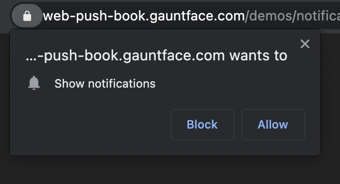 Web page notifications are a pain!