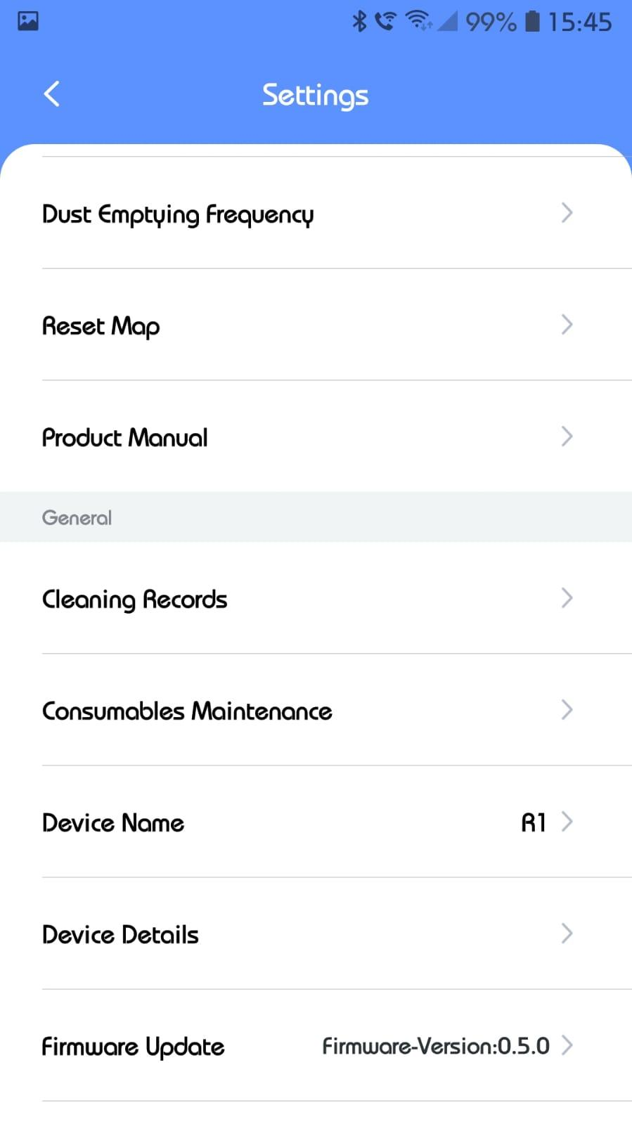 Connection to the app is easy and the app has features such as no-go, no-sweep, and no-mop zones.  You can set schedules for cleaning and specify the order of the rooms to be cleaned.  However, the first sweep of the R1 marked my area as one room, so I had to split the area into different cleaning zones so I could set the no mop and the no sweep zones correctly.