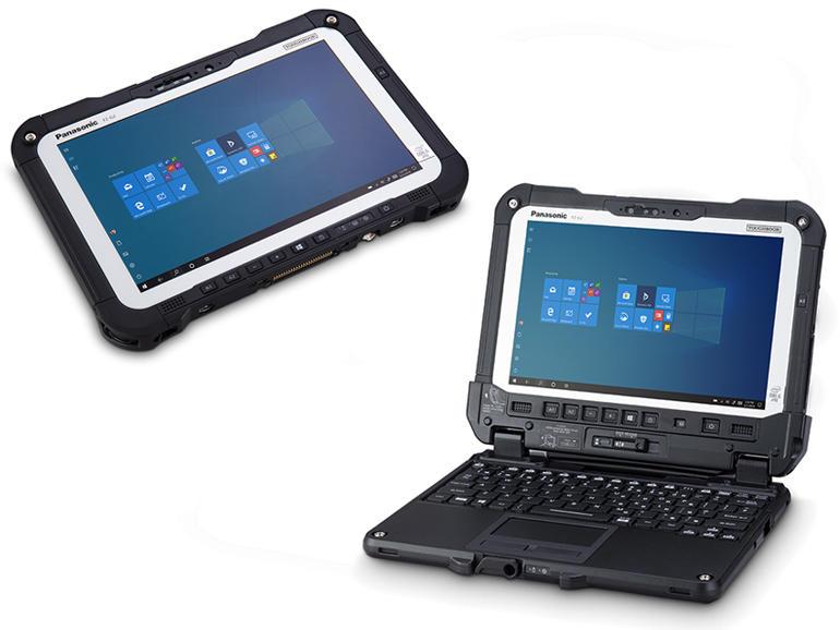 Toughbook G2: Mais qu'est-ce qu'a dans le ventre la nouvelle tablette 2-en-1 durcie Windows 10,1pouces de Panasonic?