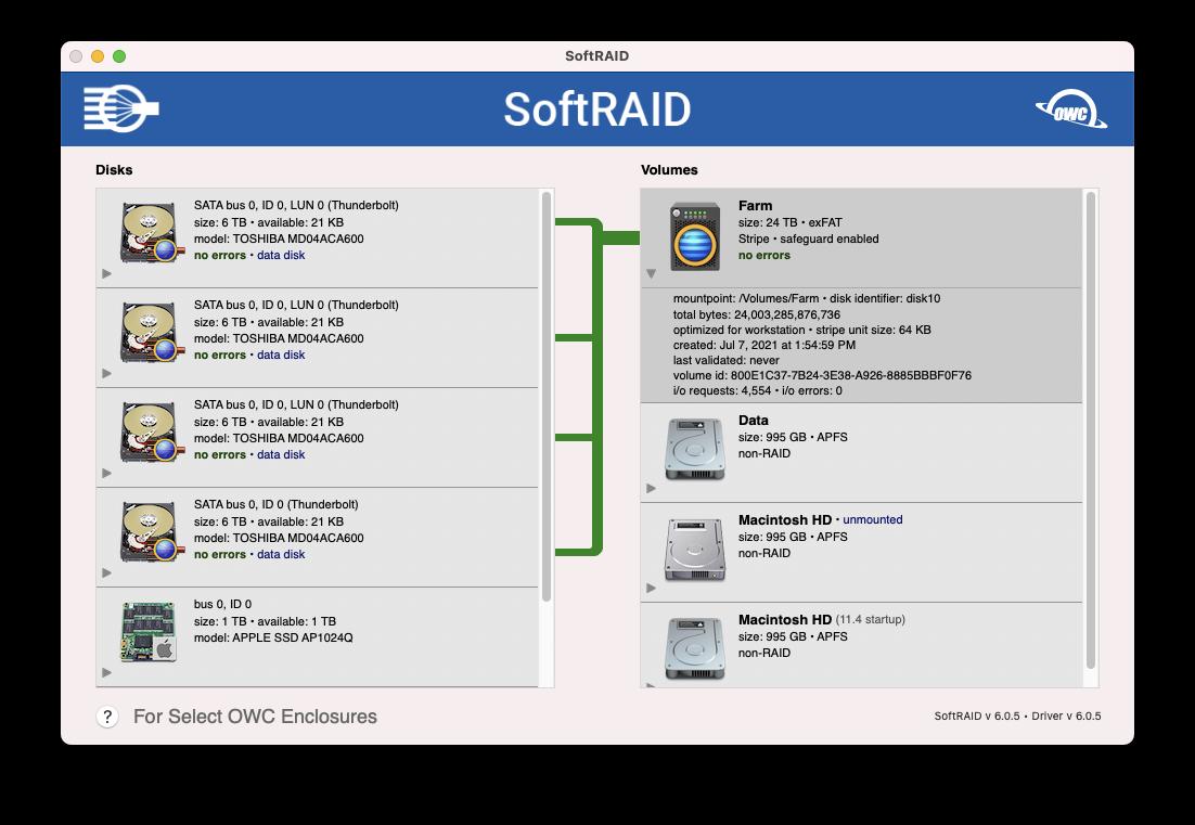 SoftRaid XT Program.png