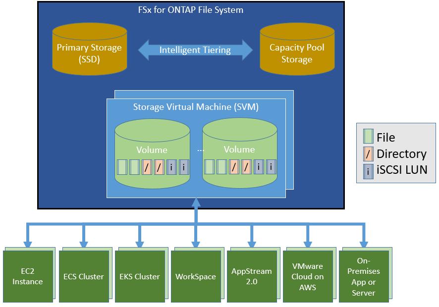 AWS / NetApp: Le premier système de fichiers ONTAP entièrement géré dans le cloud