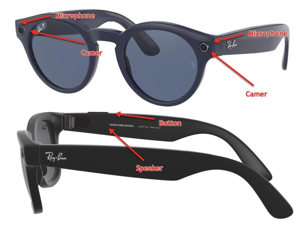 Facebook/Ray-Ban's smart sunglasses