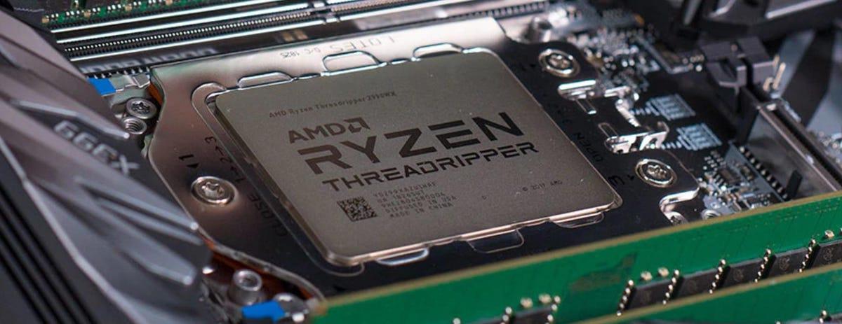 New 24-core and 32-core AMD Ryzen Threadripper processors