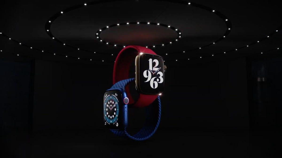 Vidéo : Apple lance l'Apple Watch 6 avec capteur d'oxygène sanguin