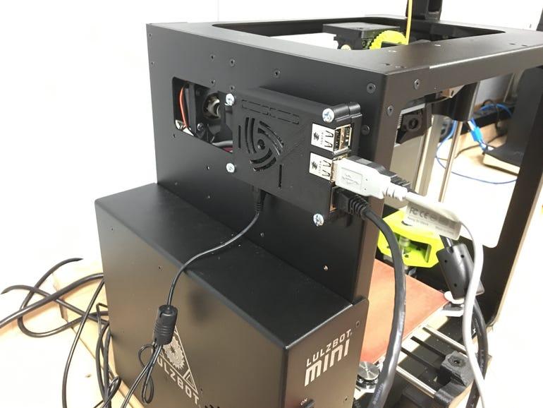 A 3D printing robot