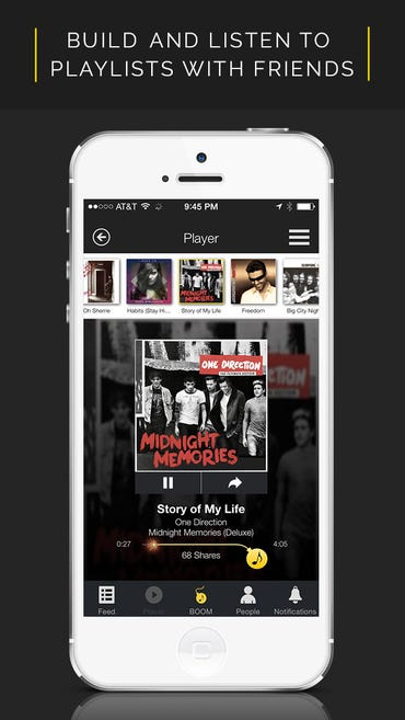 BOOMiO's app lets you share unlimited music for free ZDNet