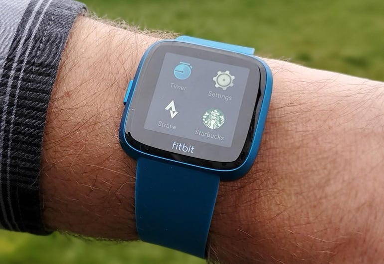 Apps on the Fitbit Versa Lite