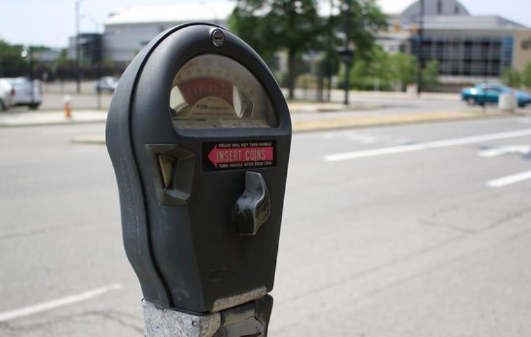 Madrid smart parking meters