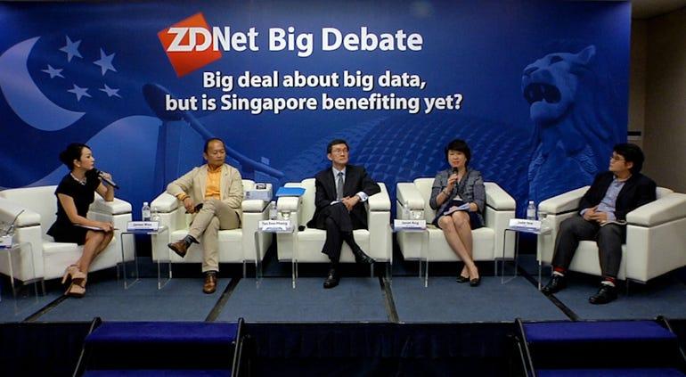 ZD Big Debate panel