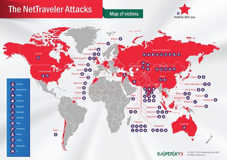 nettraveler worldwide spying cyber espionage campaign